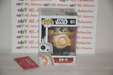 Brian Herring Signed Autographed Star Wars Bb-8 Funko Pop 61 Sw Coa Sw037060