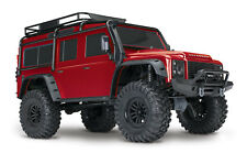Traxxas 1:10 TRX-4 Land Rover Scale Crawler Red RTR 82056-4 TRA82056-4RD