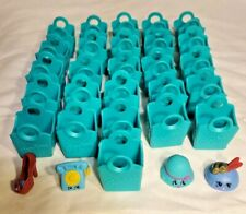 30 Shopkins 26 Bags Teal Party Favors Birthday Crafts 2 Hat 1 Telephone 1 Shoe