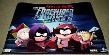 South Park The Fractured But Whole Video Game Promo Pre Order 2 Sided Poster