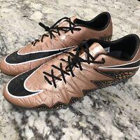 Nike Hypervenom Phinish FG ACC Soccer Cleats Bronze/Black 749901-903 sz 12