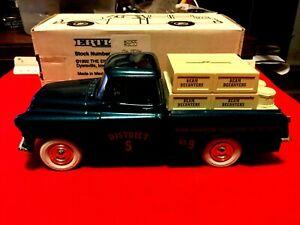 ERTL 1955 Chevrolet pick up. Branded Jim Beam