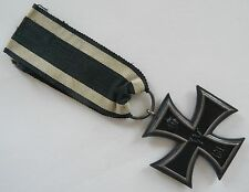 Eisernes Kreuz FW 1813 - 1914 mit Band - 1. Weltkrieg - Ring mit Punze