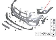 BMW X6 F16 Vorne Stoßstange Links Einsatz Rand 51117319801 7319801 2016 Neu
