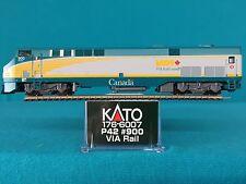 176-6007 Kato N Scale P42 VIA Rail #900 NIB