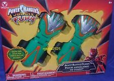 Power Rangers Jungle Fury Beast Battle Claws New Disney Store Exclusive Green