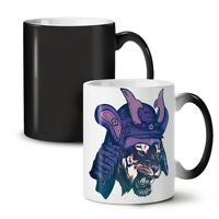 Katana Tiger Head NEW Colour Changing Tea Coffee Mug 11 oz | Wellcoda