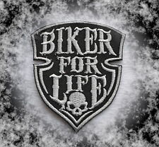 Biker For Life,Patch,Aufnäher,Aufbügler,666,Iron On,Badge,Harley,Motorcycles