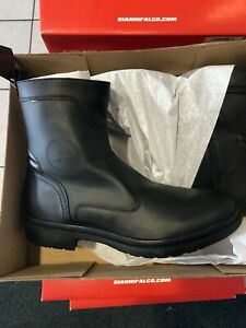 Falco Connor Black Motorcycle Boots