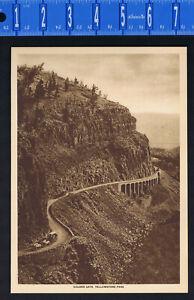 GOLDEN GATE, YELLOWSTONE NATIONAL PARK 1915 Mentor Gravure