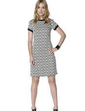 Be You Chevron Dress UK Size 12 TD075 RR 09