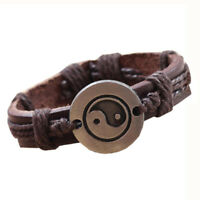 Bracelet Tai Chi Ying Yang Men Women Wristband K8T4 I7Q3