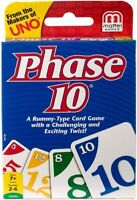 Mattel Games - Phase 10 [New ] Card Game, Table Top Game, Toy