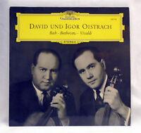 DG 138714 Bach Beethoven Vivaldi - Oistrach - 1962 UK vinyl LP