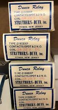 219BBXP-24VDC Struthers-Dunn DPDT, DPST-NO 24VDC 10A Non Latching Power Relay