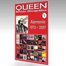 QUEEN - Revista Discográfica Nº 1 - Alemania (1973 - 2017) - Guía A Todo Color