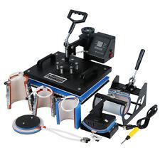 8in1 Heat Press Machine Digital Sublimation Printing Transfer T Shirt Mug Hat Us
