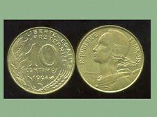 FRANCE  FRANCIA  10 centimes 1994  abeille     marianne  ( bis )