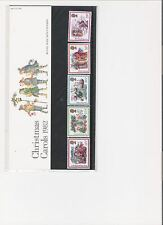 1982 ROYAL MAIL PRESENTATION PACK CHRISTMAS CAROLS MINT DECIMAL STAMPS