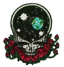 """(K) Grateful Dead SPACE YOUR FACE 3"""" iron on patch (141) ©GDP"""