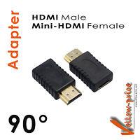 New Mini-HDMI Type C Female to HDMI Male Adapter Coupler Converter Adaptor F/M