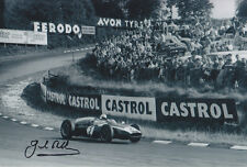 Jack BRABHAM main signé Silverstone 1960 PHOTO 12x8 1.