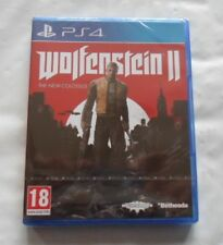Wolfenstein 2 The New Colossus Jeu Ps4  (Neuf Sous Blister)