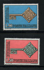 (Ref-5363) Italy 1968 Europa SG.1221/1222   Mint (MNH)