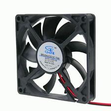 Ball Bearing 80mm 80x80x15mm Brushless DC Cooling Fan 12v 2 pin free shipping