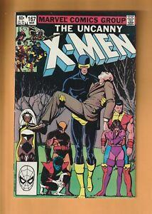 THE UNCANNY X-MEN #167 VERY FINE COMBINE SHIPPING I