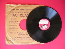DISQUE VINYLE 78 TOURS 25 cm - VOGUE PRODUCTION - SYDNEY BECHET - 11-3-1954