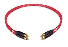 Mogami 2534 Hi-fi Interconnect Cable Pair With Neutrik Rean NYS373 RCA Plug 3Ft.
