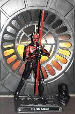 "Star Wars CUSTOM Rebels Darth Maul  4"" Figure, More Articulate!(PRE-Order) 2 wks"
