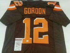 Josh Gordon Signed Autographed  Cleveland Browns Jersey JSA Witnessed COA