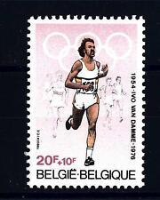 BELGIUM - BELGIO - 1980 - Ivo Van Damme medaglia olimpica del mezzofondo a Montr