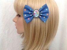 My little pony rainbow dash hair bow clip rockabilly pin up girl retro vintage