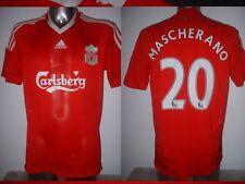 Liverpool MASCHERANO Adult Medium Adidas Shirt Jersey Soccer Football Argentina