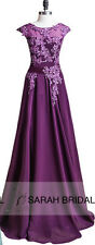Maxi Long Womens Formal Prom Evening Bridesmaid Dresses Gowns Plus Size 8 16 24W