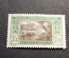 Ivory Coast  Stamp Scott# 72 River Scene 1928  MH L139