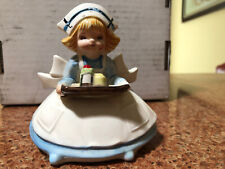 Vintage Collectible Lefton Ceramic Nurse Figurine Made In Japan