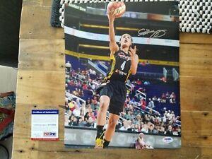 Skylar Diggins Signed 11x14 Photo Autographed COA PSA/DNA  Notre Dame  Dallas T