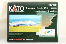 KATO N scale 10719-2 Euromed Serie 101 conjunto de 10 coches made in Japan !!!