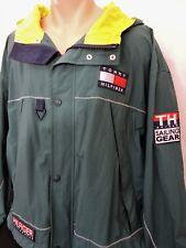 Vintage 90s Tommy Hilfiger Windbreaker Sailing Gear Jacket Spellout Flag Large