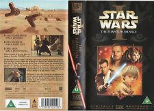 Star Wars: Episode 1 - The Phantom Menace (VHS) GENUINE ORIGNAL **NEW / SEALED**