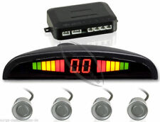 Einparkhilfe mit 4-Sensoren in Silber Rückfahrwarner Parkhilfe PDC SET & Bohrer