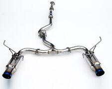 Invidia N1 Catback Exhaust punta di titanio di sistema - 08-14 IMPREZA WRX STI 5dr Hatch