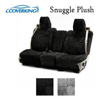 Coverking Custom Seat Covers Snuggle Plush Front Row - 2 Color Options