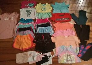 Girls Clothes 10 / 12 Lot 30 pc. Justice Under Armour Lularoe SO + more Summer