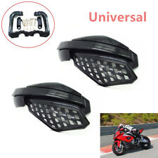 "1Pair of Universal 7/8"" 22mm Motorcycle Dirt Bike Handguard Hand Guard Brush Bar"