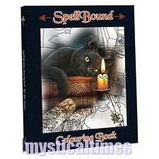 NEW LISA PARKER SPELLBOUND FANTASY ART THERAPY COLOURING BOOK WOLVES CATS